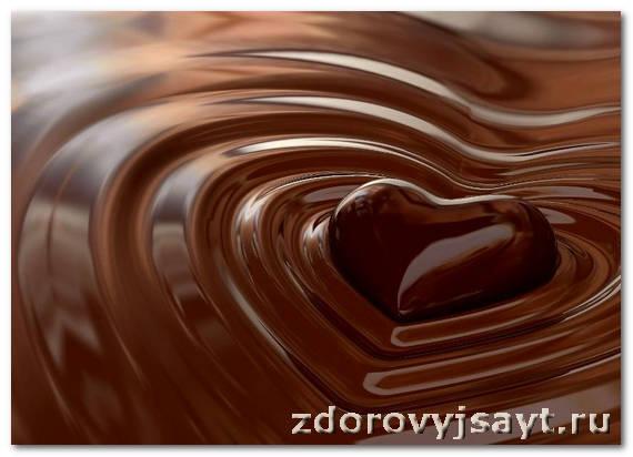 Шоколадная маска от морщин